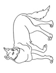 Coyote Coloring Pages 006