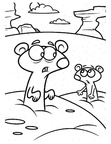 Gopher Coloring Book Page