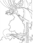 Arthur Two Worlds War Coloring Book Page