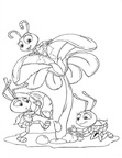 A Bugs Life Coloring Book Pages