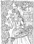 Princess Leonora Coloring Book Pages