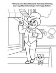 Humdinger and Catastrophe Kittens Paw Patrol Coloring Book Page