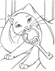 Princess Barbie Coloring Book Page
