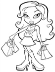 Bratz Coloring Book Page