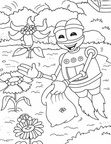 Adiboo and the Energy Thieves Coloring Book Page