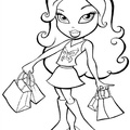 Bratz coloring pages for kids