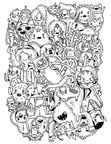 Adventure Time Coloring Book Page