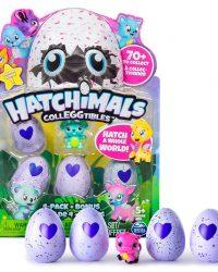 Hatchimals CollEGGtibles 4 Pack Plus Bonus