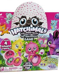 Hatchimals CollEGGtibles The EGGventure Game with Mystery Egg