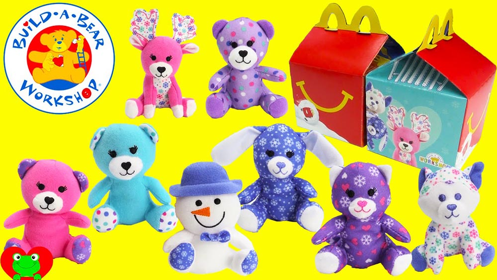 Mcdonald S Happy Meal Toys December 2015 Build A Bear