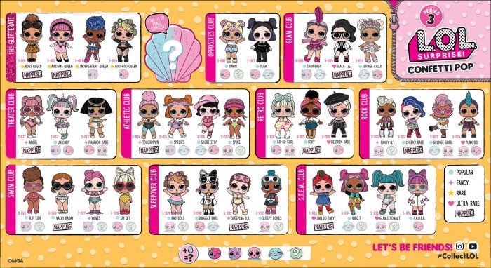 Surprise Dolls ~ Series 3 ~ TOUCHDOWN ~ Sealed /& UNPOPPED! L.O.L