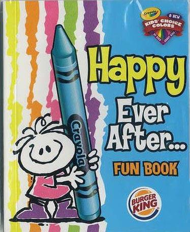 2008-crayola-Happy Ever-After-Fun-Book-burger-king-jr-toys