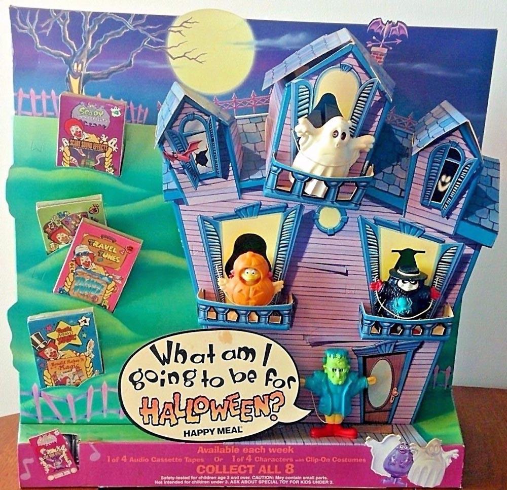 Mcdonalds Halloween Kid Meals 2020 McDonald's Happy Meal Toys 1995 – Halloween Costumes – Kids Time