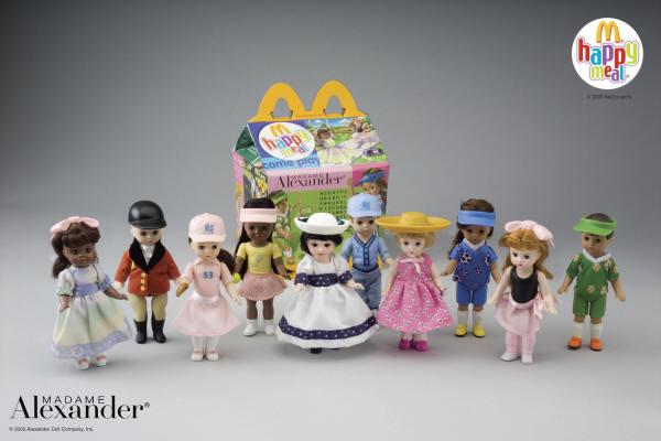 Sealed! New 2005 McDonalds Madame Alexander TEAM MATES GIRL #3