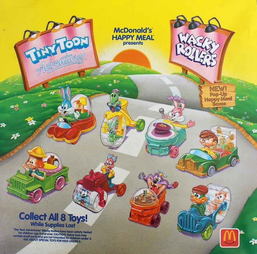 1992-tiny-toon-adventure-poster-mcdonalds-happy-meal-toys