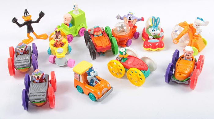 1992-tiny-toon-adventure-toys-mcdonalds-happy-meal-toys