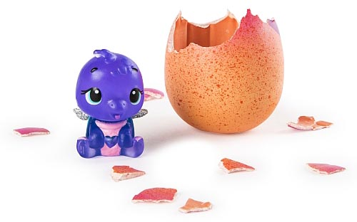 Hatchimals Colleggtibles Season 4 Hatch Bright Mystery 1-Pack LOT OF 4