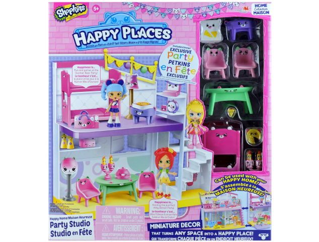 Shopkins Happy Places Season 1 - Party Studio Box