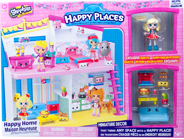 Shopkins Happy Places Season 1 - Happy Home Box