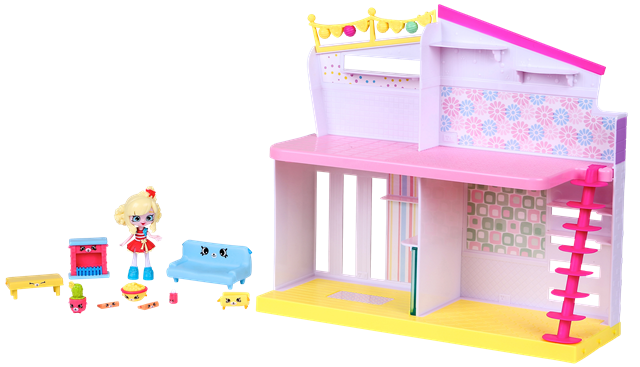 Shopkins Happy Places Season 1 - Happy Home