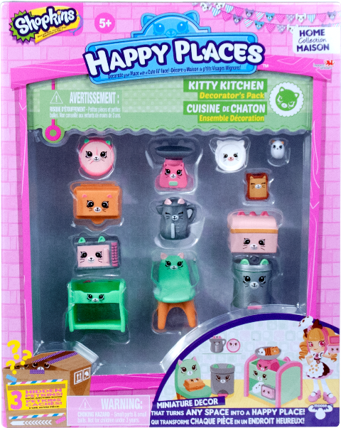 Shopkins Happy Places Season 1 - Kitty Kitchen Decorator's Pack