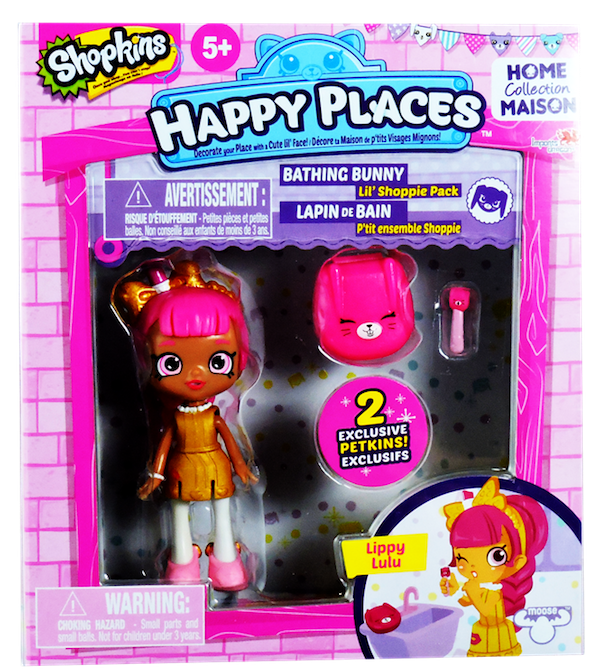 Shopkins Happy Places Season 1 - Lil' Shoppie Pack Lippy Lulu