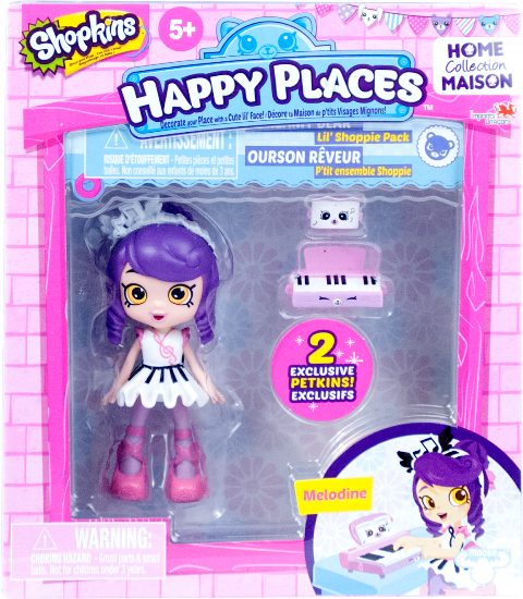 Shopkins Happy Places Season 1 - Lil' Shoppie Pack Melodine