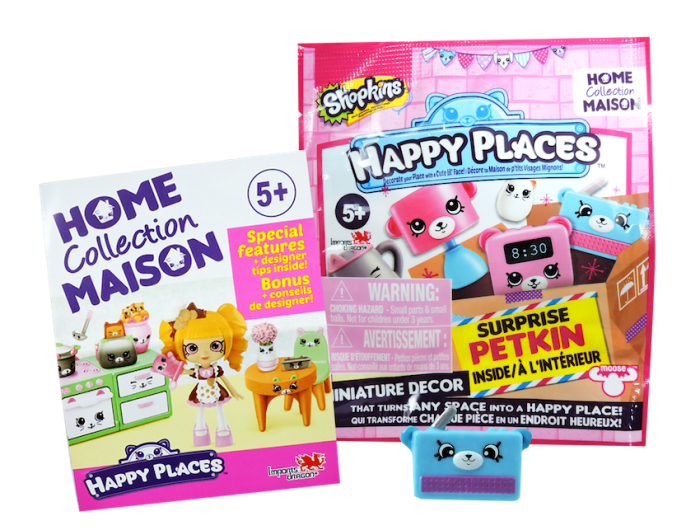 Shopkins Happy Places Season 1 - Surprise Petkin Blind Box