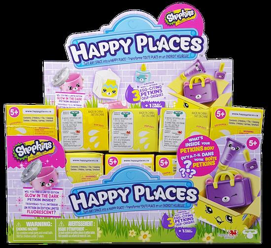 Shopkins Happy Places Season 4 - Easter Surprise Pack Boxes