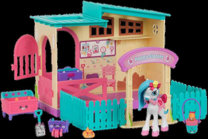 Shopkins Happy Places Season 4 - Happy Stables Playset