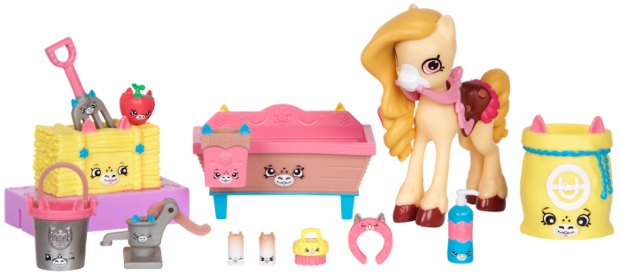 Shopkins Happy Places Season 4 - Pampered Pony Stable Welcome Pack