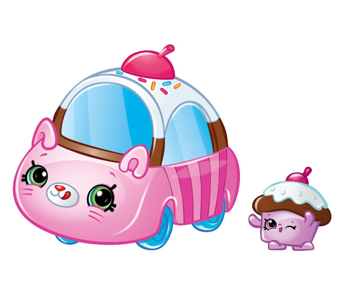 Shopkins Season 1 - Cutie Cars - Choc-Cherry Wheels Buggy Buddy