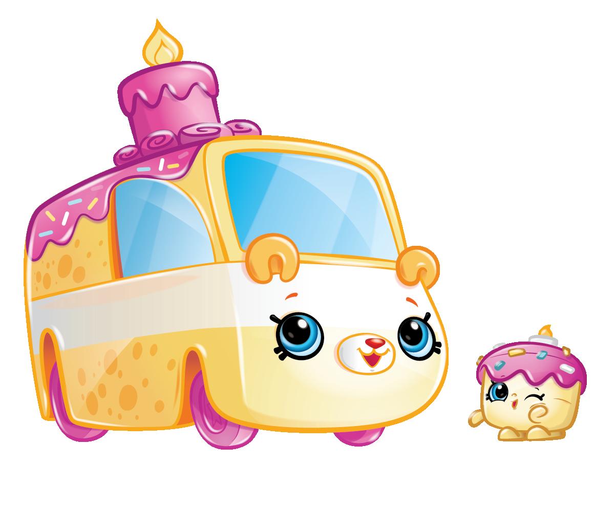 Shopkins Season 1 - Cutie Cars - Wheely Wishes Speedy SUV