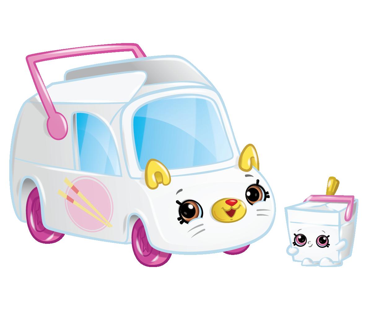 Shopkins Season 1 - Cutie Cars - Zoomy Noodles Speedy SUV