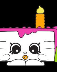 Gracie Birthday Cake #7-005 - Shopkins Season 7 - Surprise Party Team