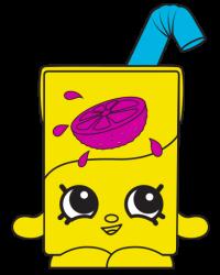 Lucy Juice Box #7-010 - Shopkins Season 7 - Surprise Party Team