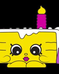 Gracie Birthday Cake #7-013 - Shopkins Season 7 - Surprise Party Team