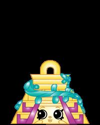 Chico Pyramid #8-234 - Shopkins Season 8 - Bag Charms