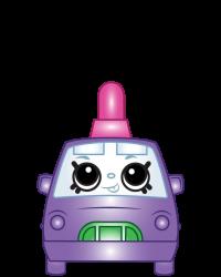 Teenie Taxi #8-235 - Shopkins Season 8 - Bag Charms