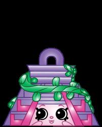 Chico Pyramid #8-240 - Shopkins Season 8 - Bag Charms