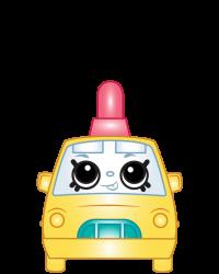 Teenie Taxi #8-241 - Shopkins Season 8 - Bag Charms
