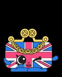 Britney Bag #8-020 - Shopkins Season 8 - UK Holiday Team