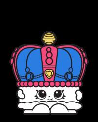 Kingsley Crown #8-025 - Shopkins Season 8 - UK Holiday Team