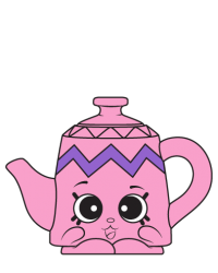 Potty Teapot #8-028 - Shopkins Season 8 - UK Holiday Team