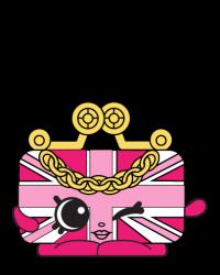 Britney Bag #8-029 - Shopkins Season 8 - UK Holiday Team