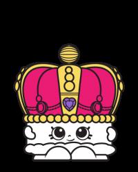 Kingsley Crown #8-034 - Shopkins Season 8 - UK Holiday Team