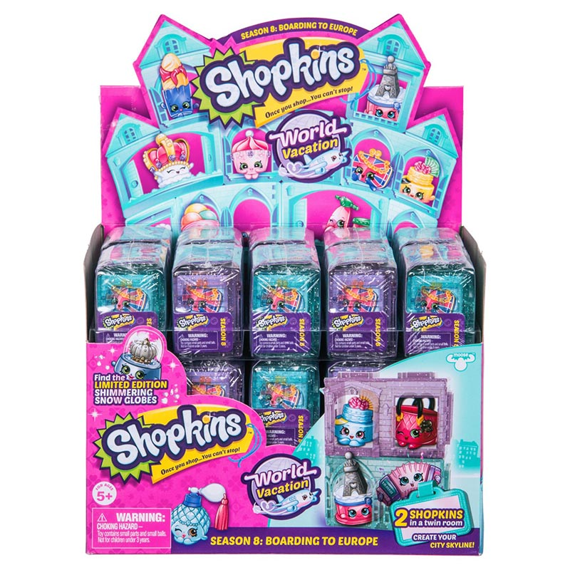 Shopkins Stagione 8 World Vacanza uk vacanza Spencer SPUGNA 8-021