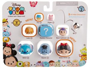 Mini Figures Series 2 Tsum Tsum 9 Pack