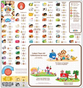 Tsum Tsum Series 8 Collector's Guide List Checklist