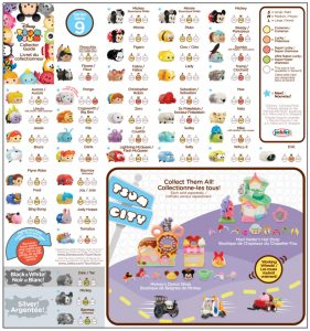 Tsum Tsum Series 9 Collector's Guide List Checklist